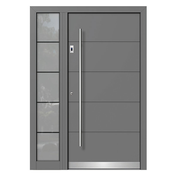 Modern Aluminium Front Door Option