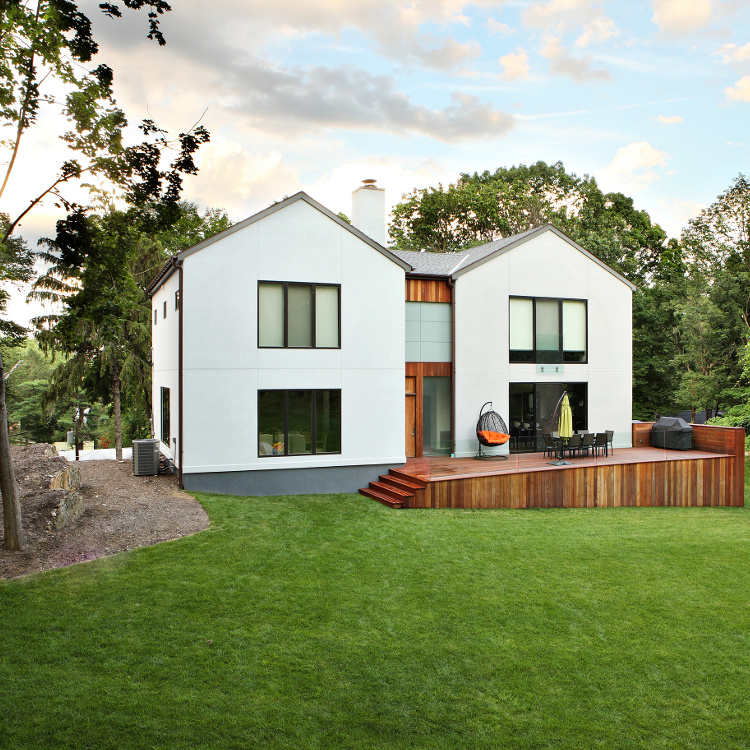 Modern Home with Passive House Windows