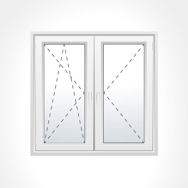 Turn & Tilt Window Opening Options